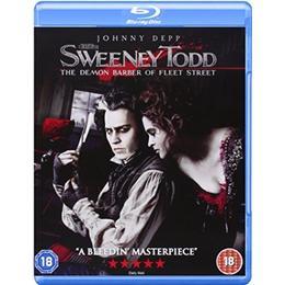 Sweeney Todd - The Demon Barber of Fleet Street [Blu-ray] [2007] [2008] [Region Free]